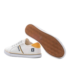 Big Star classic white Celia sneakers 1