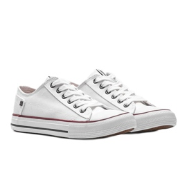 Big Star classic white Elise sneakers 3