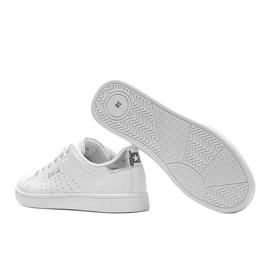 Big Star sneakers low classic white Angelise 2