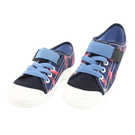 Befado children's shoes 251X160 red navy blue 3