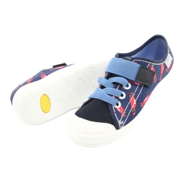 Befado children's shoes 251X160 red navy blue 4