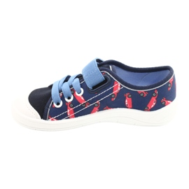 Befado children's shoes 251X160 red navy blue 2