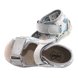 Befado yellow children's shoes 342P025 blue grey 6