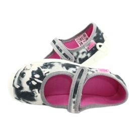 Befado children's shoes 114X440 white grey 6