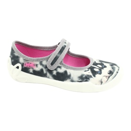 Befado children's shoes 114X440 white grey 1