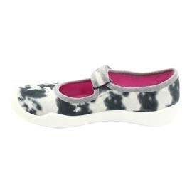 Befado children's shoes 114X440 white grey 2