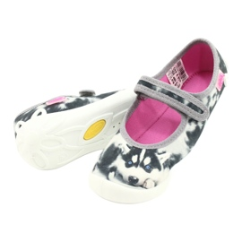 Befado children's shoes 114X440 white grey 4