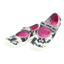Befado children's shoes 114X440 white black grey 2