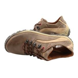 KENT Men's trekking shoes 268K brown beige 3