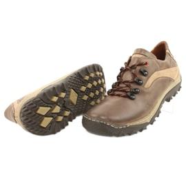 KENT Men's trekking shoes 268K brown beige 2