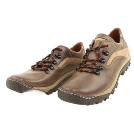 KENT Men's trekking shoes 268K brown beige 1
