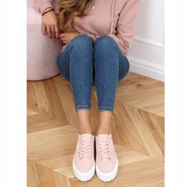 Pink women's sneakers LA134 Pink 3