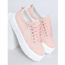 Pink women's sneakers LA134 Pink 1