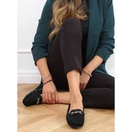 Black women's loafers GS12P Black 2