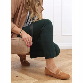 Camel T395 Camel women's loafers brown 3