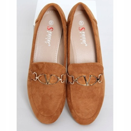 Camel T395 Camel women's loafers brown 1