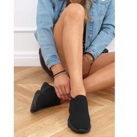 Black NB399 Black socks sports shoes 2