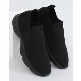 Black NB399 Black socks sports shoes 1