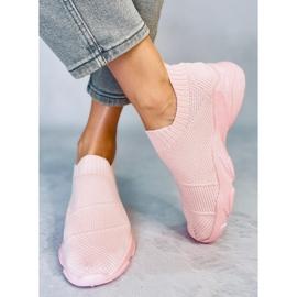 Pink NB399 Pink socks sports shoes 2