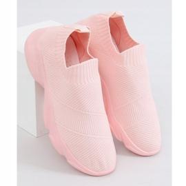Pink NB399 Pink socks sports shoes 1