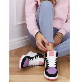 NB505 Purple high-top sneakers multicolored 2