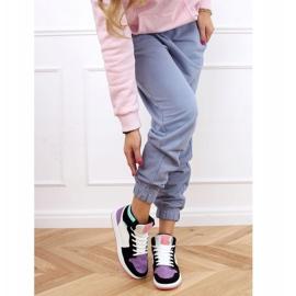 NB505 Purple high-top sneakers multicolored 4
