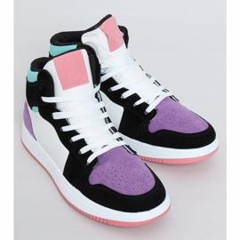 NB505 Purple high-top sneakers multicolored 1