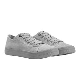 Classic sneakers Big Star gray Amber grey 1