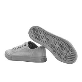 Classic sneakers Big Star gray Amber grey 2