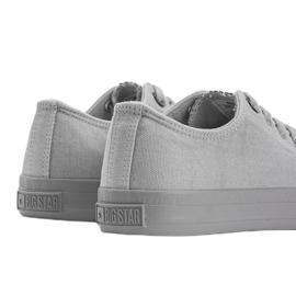 Classic sneakers Big Star gray Amber grey 3