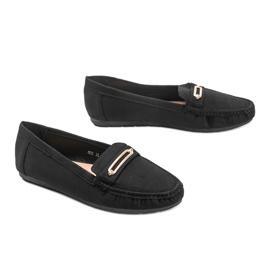 Black women's Keyla loafers 2