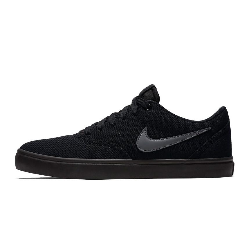 Nike Sb Check Solar Cnvs Black 843896 002 Men S Shoes Grey Butymodne Pl