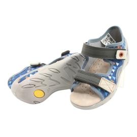 Befado children's shoes pu 065P158 blue grey 4