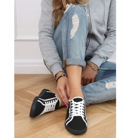 Black NB385P Black sneakers white 2