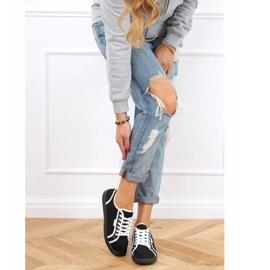 Black NB385P Black sneakers white 4