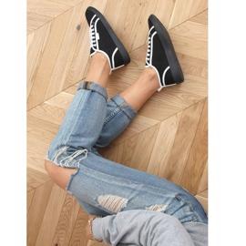 Black NB385P Black sneakers white 3