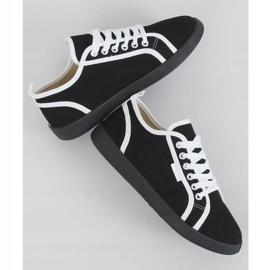 Black NB385P Black sneakers white 1
