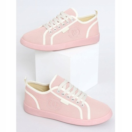 Pink NB385P Pink sneakers white 1