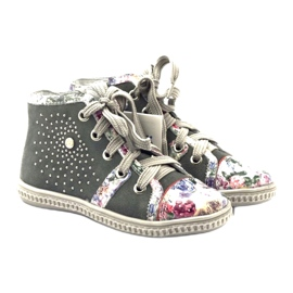 Shoes shoes for children with jets Bartek 84254 pink grey 4