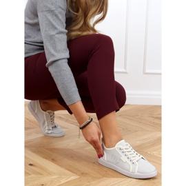 Gray NB385P Gray sneakers ecru grey 3