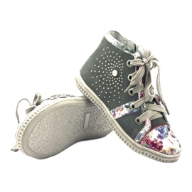 Shoes shoes for children with jets Bartek 84254 pink grey 3