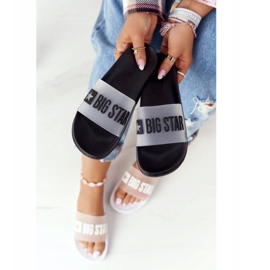 Women's Slippers Big Star FF274A200 Black colorless 3