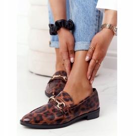 S.Barski Elegant Women's Loafers S. Barski Leopard brown 3