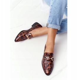 S.Barski Elegant Women's Loafers S. Barski Leopard brown 2