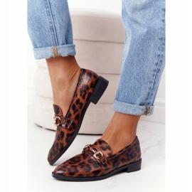 S.Barski Elegant Women's Loafers S. Barski Leopard brown 4