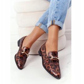 S.Barski Elegant Women's Loafers S. Barski Leopard brown 5