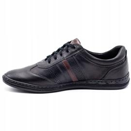 Joker Black men's leather shoes 521 1