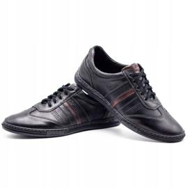 Joker Black men's leather shoes 521 6