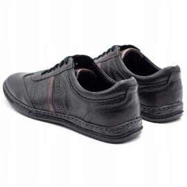 Joker Black men's leather shoes 521 7