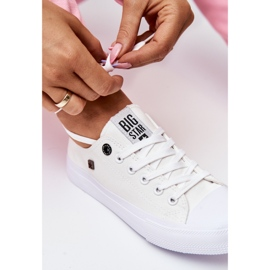 Women's Classic Low Sneakers Big Star AA274010 White 6